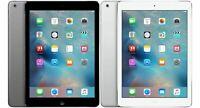 """Apple iPad Air 32GB Retina, 4G Unlocked + Wi-Fi, 9.7"""" - All Colors"""