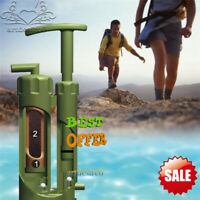 New Outdoor Filter Soldier Water Purifier Purification Camping Hiking Traval Kit
