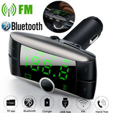 LCD Wireless Bluetooth FM Transmitter Modulator Car MP3 Player Dual USB Charger