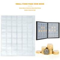Coins Album Collection Book Mini Penny Folder Holder for Collector Gift 420 Grid