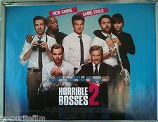 Cinema Poster: HORRIBLE BOSSES 2 2014 (Quad) Jennifer Aniston Kevin Spacey