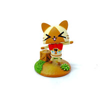 Monster Hunter Diary Capcom Otomo Airou Felyne Poka Mini Collection Figure No.2