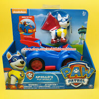 PAW Patrol Dog Apollo's Pup Mobile Nickelodeon Model Car Kids Toys In Stock Gift