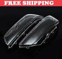 BMW E39 Headlight Cover Glass Lens 5 Series 63128375302 63128375301 Headlamp