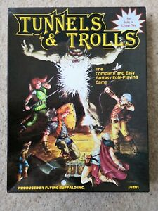Tunnels and Trolls. Complete and easy Fantasy Role-Playing Game. UK 5th Edition