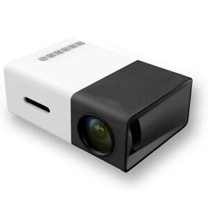 Mini Video Projector HD Home Projector for Home Theater Movies and Video Games