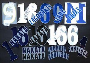 KIT/NOMI/NUMERI UFFICIALI BOLOGNA H/A/3RD 2001-2010 PLAYER SIZE