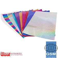 "SISER HTV IRON HOLOGRAPHIC Heat Transfer Vinyl 20"" X 1 yd - T SHIRTS / TEXTILES"