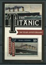 Antigua & Barbuda 2012 MNH Titanic 100th Ann 1v S/S Ships Boats Nautical Stamps