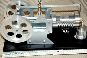 flammenfressermodell mit glaszylinder keine dampfmaschine oder stirlingmotor