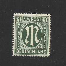 AM Post  MiNr.35 PF IV postfrisch, linke Zierlinien neben SM weißer.