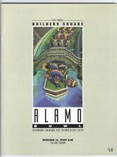 1995 Alamo Bowl program Texas A&M - Michigan + media guide package Tom Brady fr