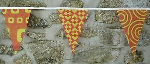 Festival Style Pattern Flag Polyester Bunting - Premium Quality