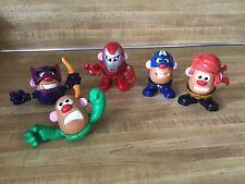 Marvel Avengers Super Heroes Mini Potato Head Mixable Mashables Figure Parts