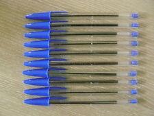Stylo bille BIC Cristal Médium lot de 10 Bleu
