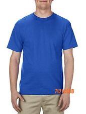 Alstyle Apparel AAA T Shirt 1301 Men's Plain Blank Short Sleeve T Shirts S-5XL