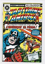 FRENCH COMIC  EDITION HERITAGE  CAPITAINE AMERICA  #   60   Y-B