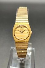 Vintage SEIKO LADIES Gold Tone Watch 7320-0129 With New Battery 5 Jewels