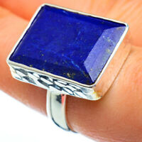 Lapis Lazuli 925 Sterling Silver Ring Size 8 Ana Co Jewelry R39979F