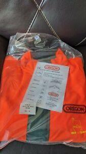 oregon chainsaw jacket XL
