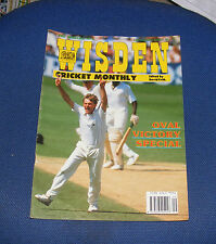 WISDEN CRICKET MONTHLY SEPTEMBER 1991 - OVAL VICTORY SPECIAL