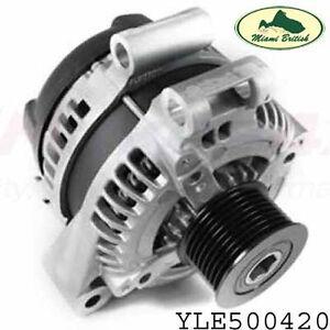 LAND ROVER ALTERNATOR RR SPORT DIESEL V6 2.7L W/ACE SUSPENSION YLE500420 OEM