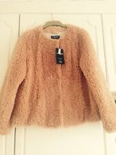 Marks and Spencer Faux Fur Popper Coats & Jackets for Women