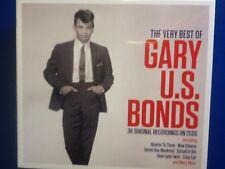 GARY.  U.  S.   BONDS.        THIRTY. SIX. ORIGINAL. RECORDINGS. ON  TWO. DISCS.