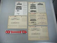 ae565-3 #5 Arnold N Gauge Instructions for Diesel Locomotives 0201+0202+0205