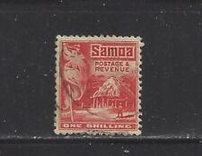 SAMOA (NZ MANDATE) - 153 - USED - 1921 - BRITISH FLAG & SAMOAN HOUSE