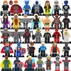 34 Pcs Marvel DC Super Heroes Avengers Lego Compatible Building Blocks