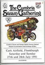 1991 Cumbria Steam Gathering Handbook Guide Booklet Program N.T.E.C. hit n' miss