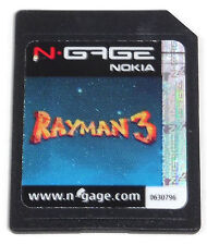 RAYMAN 3 (2004) N-GAGE GAME ~ACTUAL PHOTO~ **TESTED**