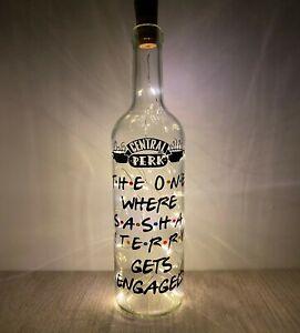 Friends Bottle Light - Friends TV Show - Friends Series - Personalised Gift