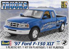 1:25 Revell 7215 -  '97 Ford F-150 XLT Pickup Plastic Model Kit