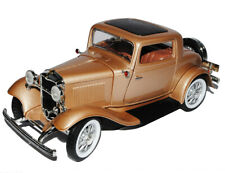 Ford 3-window Coupe 1932 Gold Hot Rod Oldtimer 1/18 Yatming Modellauto Modell Au