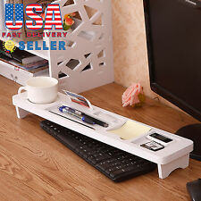 Multi-Functional Computer Keyboard Stand Office Desk Desktop Organizer Storage