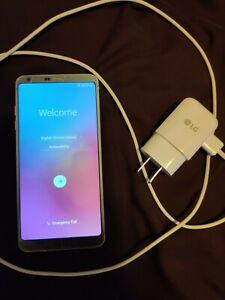 LG G6 - 32GB - Platinum Smartphone used good condition T-Mobile h872