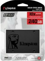 "Kingston A400 SSD 240GB SATA 3 2.5"" Internal Solid State Drive Notebook Desktop"