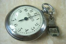 A VINTAGE FRENCH MADE POCKET PEDOMETER c.1910-20