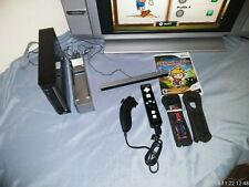 Nintendo WII Black Console Game Cube Compatible