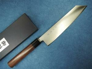 Sakon Ginga Ginsanko Silver 3 Stainless Steel Japanese Wa-Kiritsuke Knife 210mm