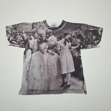 New listing Vintage 90s Wizard Of Oz Stanley Desantis All over print Graphic T-shirt - Large