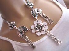 STRASS Collier Damen Hals Kette kurz Modekette Silber Glitzer Statement Blogger!