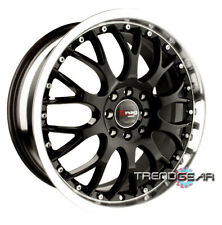 18 DRAG DR19 BLACK WHEEL RIM ECLIPSE 3000GT IMPREZA WRX