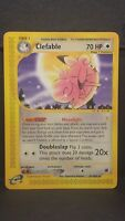 Pokemon Card Clefable 41/165 Expedition Rare Near Mint