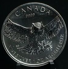 2015 Canadian Canada Great Horned Owl 9999 1 oz Silver Coin 1