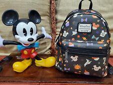 Brand New Disney Parks Halloween Treats Loungefly Mini Backpack