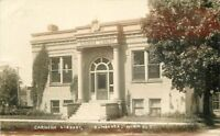 1914 Zumbrota Minnesota Carnegie Library RPPC Real photo postcard 11949