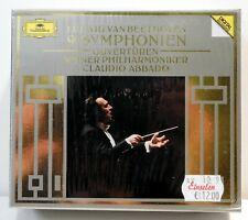 ABBADO/Wiener Philharmoniker - Beethoven 9 Symphonien DGG 1989 Box - NEU/OVP!!